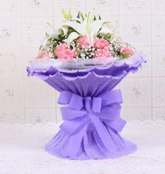 紫色亮晶晶背景