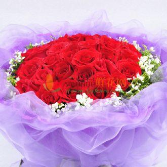 双层纸包玫瑰花的包法图解步骤